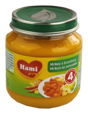 Hami příkrm mrkev s brambory 125g 4M