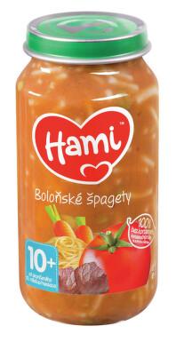 Hami příkrm špagety s hovězím a zel.250g 10M