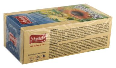 Apotheke Krk a mandle čaj 20x1.5g