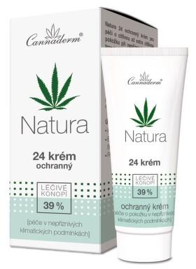 Cannaderm Natura 24 krém ochranný 50g