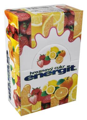 Energit Hroznový cukr multivit.MIX 3 přích. 27rolí