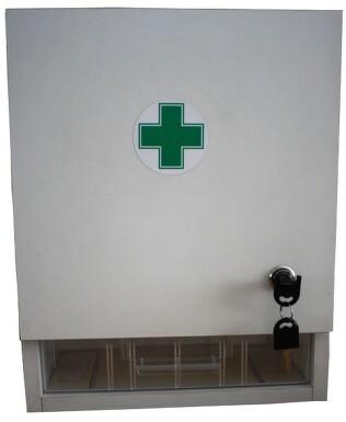 Lékárnička nástěn.s náplní do 20 osob-ZM 20 bílá