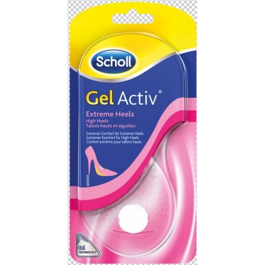 Scholl GelActiv vložky pro Extrémně vysok.podpatky