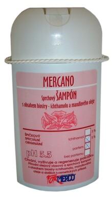 MERCO Mercano sprch.šampon 3-5% ichthyol 250ml