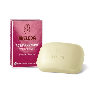 WELEDA Rozmarýnové rostlinné mýdlo 100g