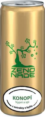 ZENONADE Anti-energy drink Konopí 250ml