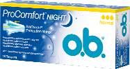 O.B. tampóny ProComfort Night Normal 48 ks