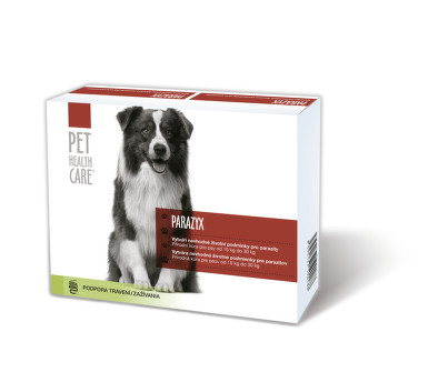 PET HEALTH CARE PARAZYX psi od 15kg tbl.44