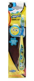 SpongeBob zubní kartáček s 3D krytkou zdarma