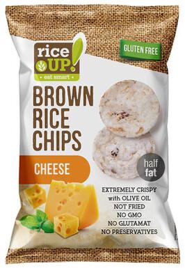 Rýžové chipsy se sýrem 60g
