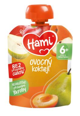 Hami příkrm OK Ovocný koktejl 90g