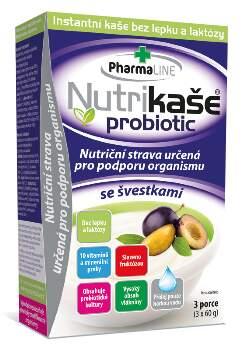 Nutrikaše probiotic se švestkami 180g (3x60g)