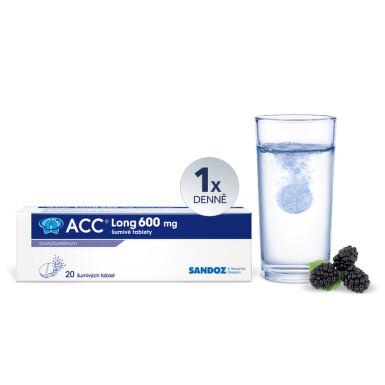 ACC LONG perorální šumivá tableta 20X600MG