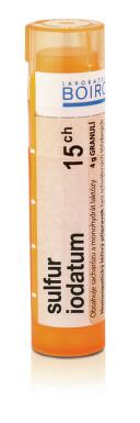 SULFUR IODATUM 15CH granule 4G