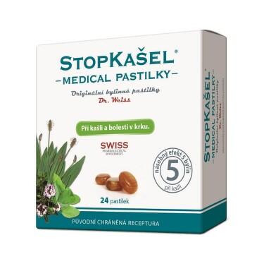 STOPKAŠEL Medical pastilky Dr.Weiss 24 pastilek