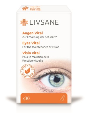 LIVSANE Podpora vitality očí cps.30