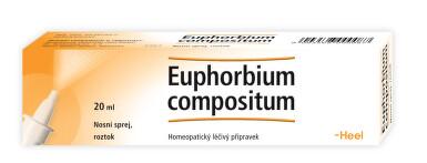 EUPHORBIUM COMPOSITUM HEEL nosní podání SPR SOL 20ML