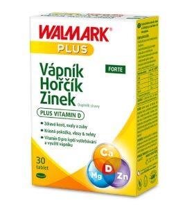Walmark Vápník Hořčík Zinek FORTE tbl.30
