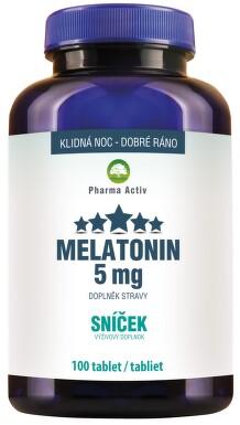 Melatonin 5mg Sníček tbl.100