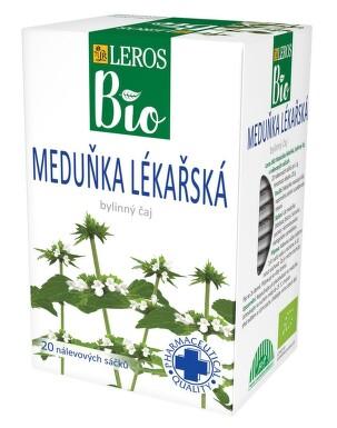 LEROS BIO Meduňka lékařská 20x1g