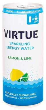 Virtue energetická syc.voda Citron a limetka 250ml