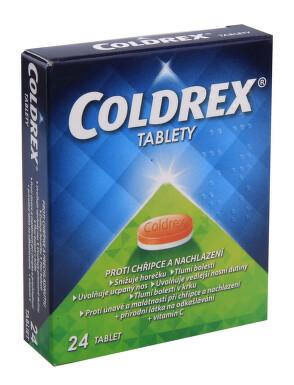 COLDREX TABLETY perorální neobalené tablety 24