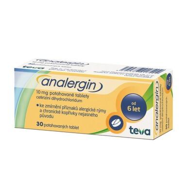 ANALERGIN perorální potahované tablety 30X10MG