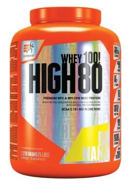 EXTRIFIT High Whey 80 2270g Banana