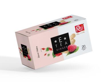 E-Tea Ginger Zázvor/Malina 20x2.2g