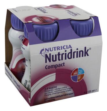 NUTRIDRINK COMPACT S PŘÍCHUTÍ LESNÍHO OVOCE perorální roztok 4X125ML