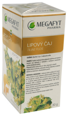 LIPOVÝ ČAJ perorální léčivý čaj 20X1.5GM I