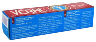 VERAL 1% GEL kožní podání gely 1X50GM II