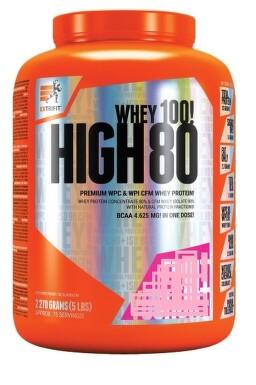 EXTRIFIT High Whey 80 2270g Strawberry