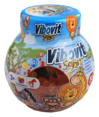 Vibovit Safari 50 bonbonů
