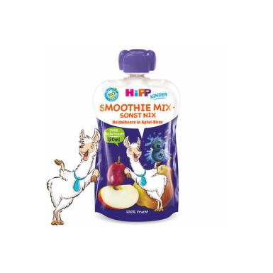 HiPP BIO Smoothie Jablko-Hruška-Borůvky 120ml C-141