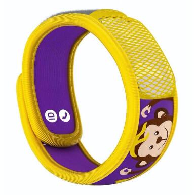 PARAKITO Repelentní náramek dětský Opička+2 náplně