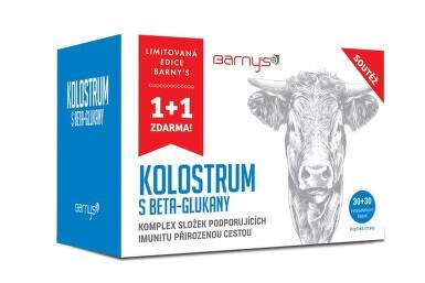 Barnys Kolostrum s betaglukany limit.edice cps.60