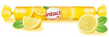 Intact hroznový cukr s vit.C citrón 40g (rolička)