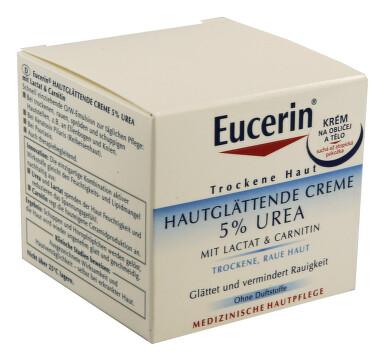 EUCERIN UREA 5% Krém na obličej a tělo 75ml 63323