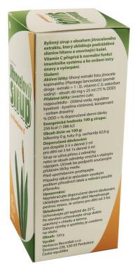 Herbacos Jitrocelový sirup s vitaminem C 320g