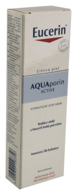 EUCERIN AQUAporin ACTIVE oční krém 15ml