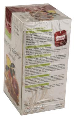 Apotheke Horký zázvor a koriandr čaj 20x2g
