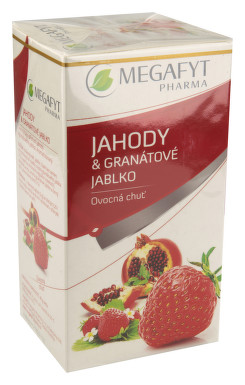 Megafyt Ovocný Jahody a granátové jablko n.s.20x2g