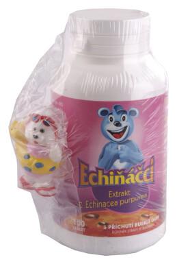 Walmark Echináčci tbl.100-bubble gum(Echinacea30mg