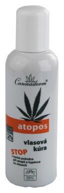 Cannaderm Atopos vlasová kůra 100ml