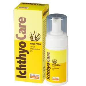Ichthyo Care mycí pěna 3% Ichtyol Pale 100ml (Dr.M