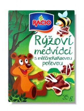 RACIO rýžoví medvídci 35g