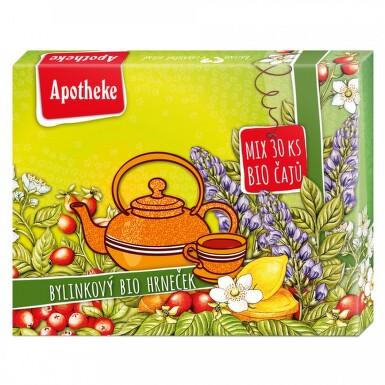 Apotheke kolekce prémiových čajů BIO n.s.30