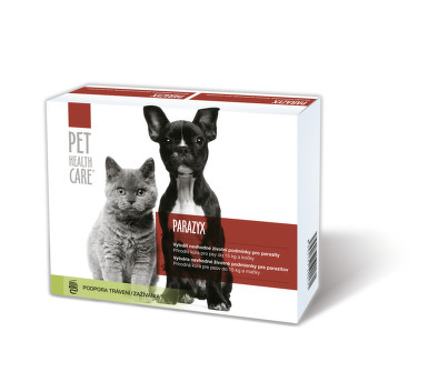PET HEALTH CARE PARAZYX psi do 15kg a kočky tbl.22