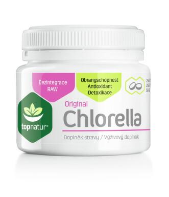 Chlorella 200mg tbl.250 TOPNATUR